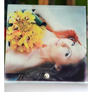 Photo Glass Frame (20 X 20cm)