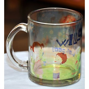 Glass Mug (Clear)