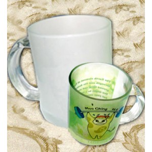 Glass Mug (Frosted)